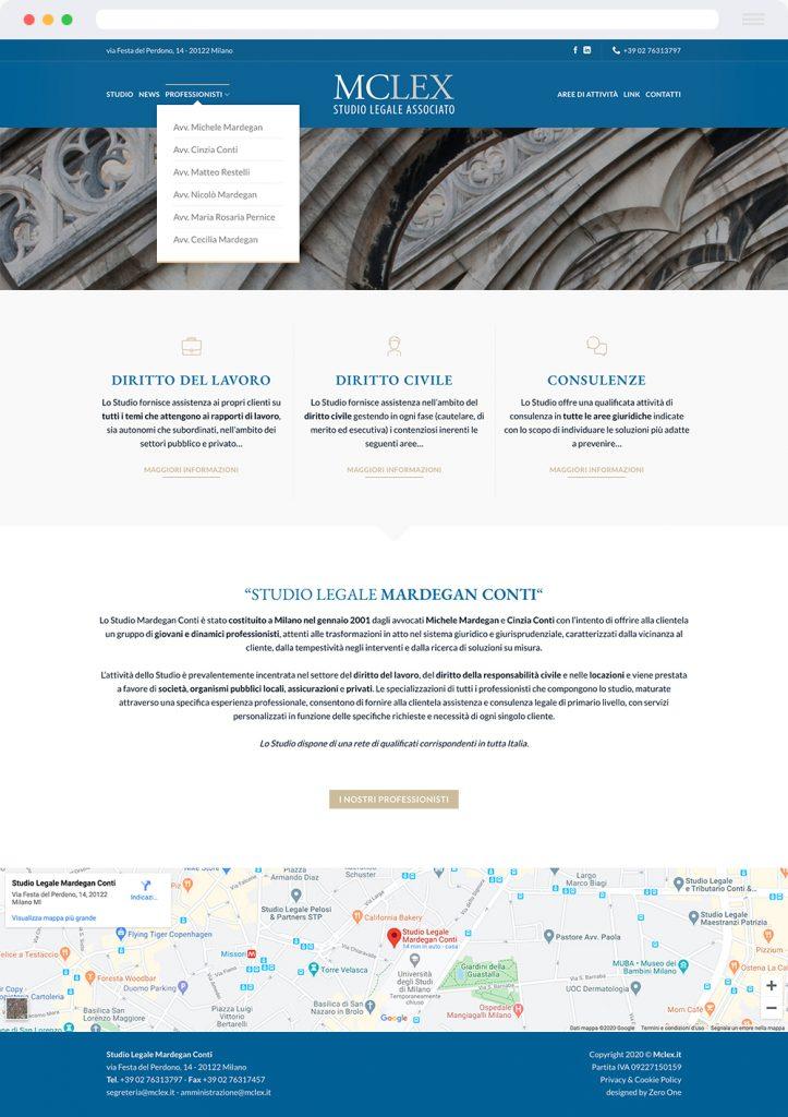 Studio Legale Mardegan Conti - Finalmente online il nostro nuovo sito web
